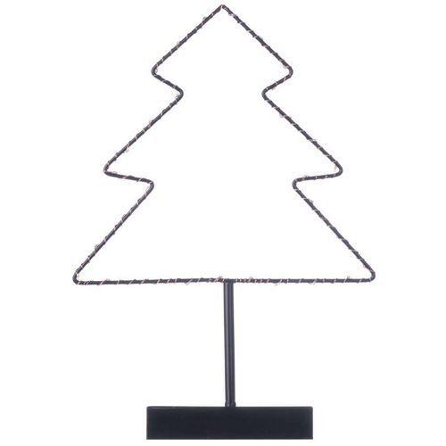 LED dekorace - stromek, 3xAA, teplá bílá, časovač