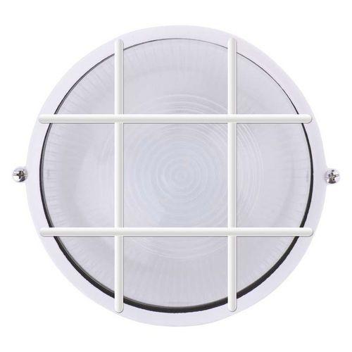 LED přisazené svítidlo, kruh mřížka 12W denní bílá
