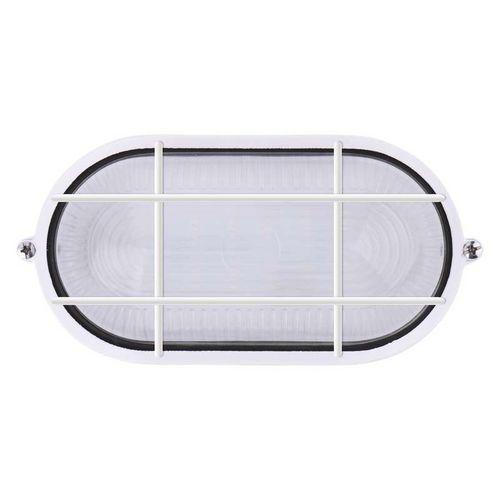 LED přisazené svítidlo, ovál mřížka 6W denní bílá