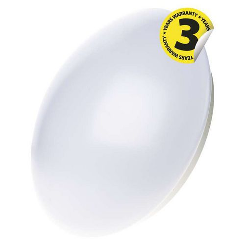 LED přisazené svítidlo Cori, kruh 18W teplá bílá