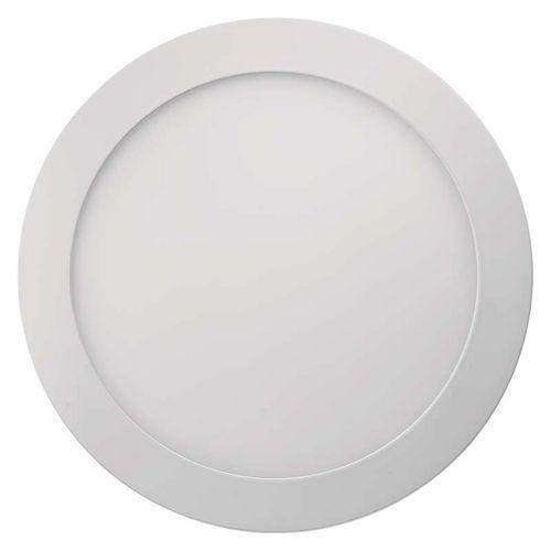 LED panel 225mm, kruhový přisazený bílý, 18W teplá bílá
