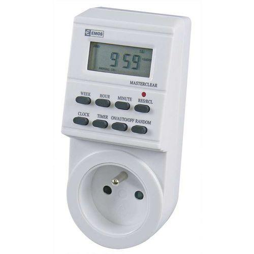 Časovač - digitální spínací zásuvka TS-EF1