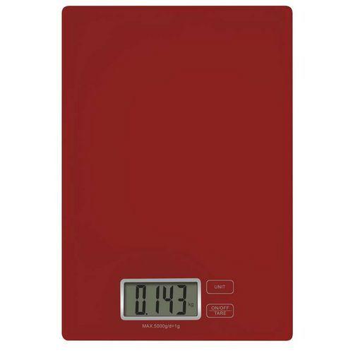 Digitální kuchyňská váha TY3101R červená