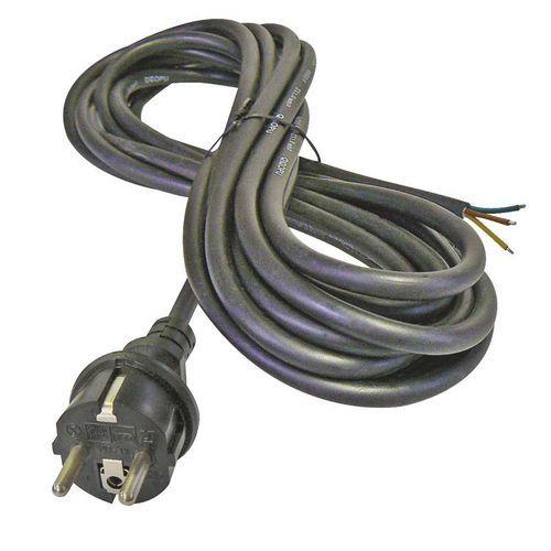 Flexo kabel 5m/3x1mm černá šňůra / guma