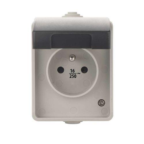 Zásuvka nástěnná 16A/250V IP54