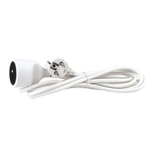 Prodlužovací kabel spojka 3m, bílý