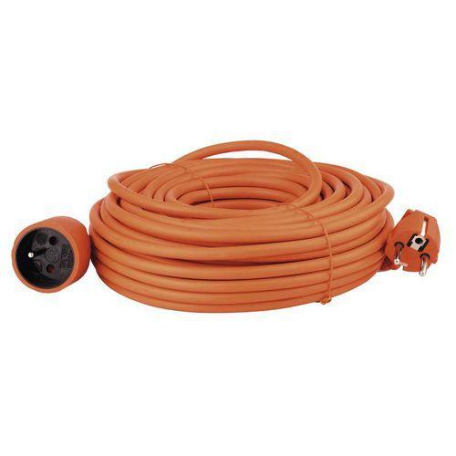 Prodlužovací kabel spojka 25m, oranžový