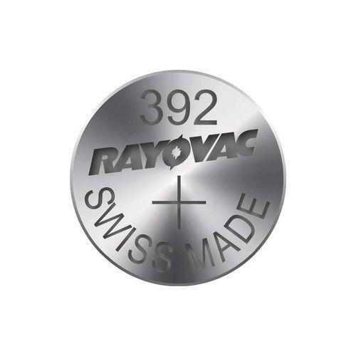 Knoflíková baterie do hodinek RAYOVAC 392, 10ks v blistru