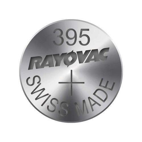 Knoflíková baterie do hodinek RAYOVAC 395 blistr