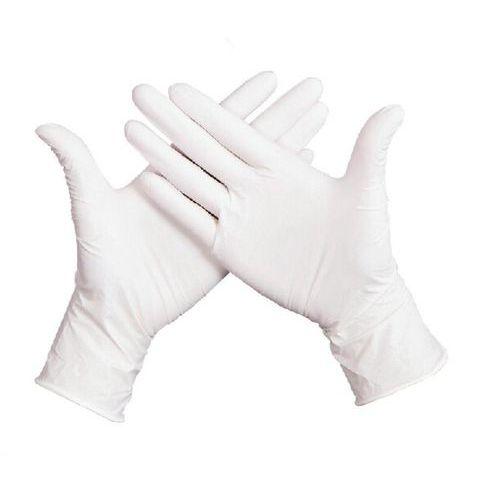 Jednorázové latexové rukavice Manutan a67e705c66