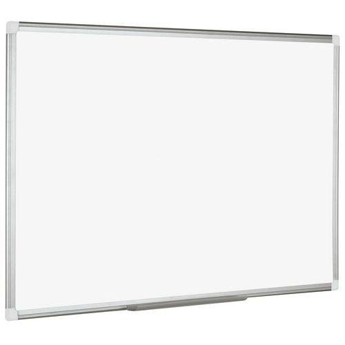 Bílá magnetická tabule Manutan, 60 x 90 cm