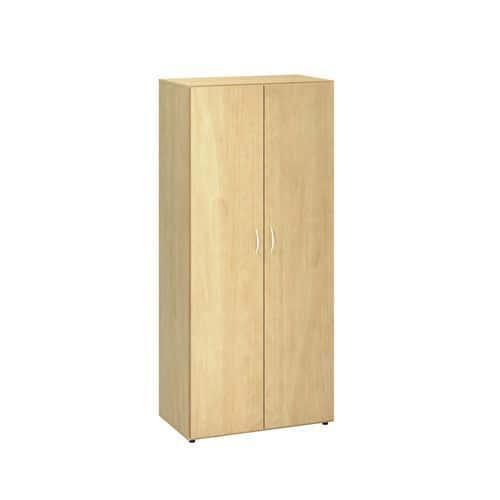 Vysoká šatní skříň Alfa, 178 x 80 x 47 cm, dezén divoká hruška