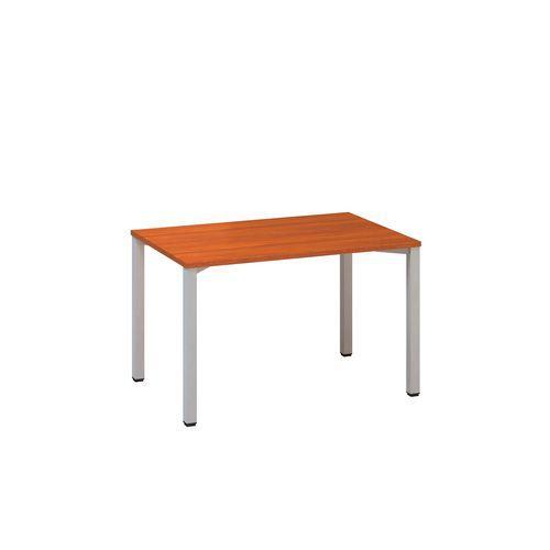 Kancelářský stůl Alfa 200, 120 x 80 x 74,2 cm, rovné provedení, dezén třešeň, RAL9022