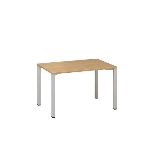 Kancelářský stůl Alfa 200, 120 x 80 x 74,2 cm, rovné provedení, dezén buk, RAL9022