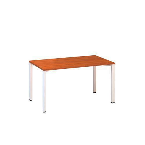 Rovné kancelářské stoly Alfa 200, 140 x 80 x 74,2 cm, rovné provedení