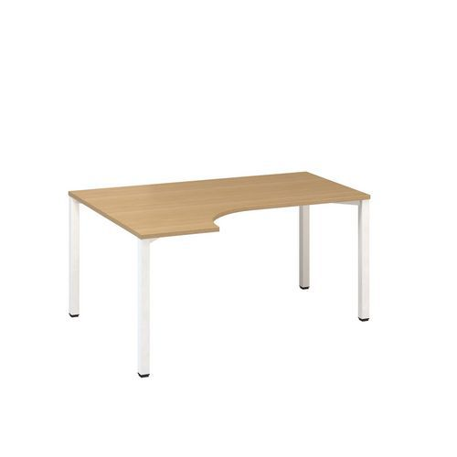 Ergo kancelářské stoly Alfa 200, 180 x 120 x 74,2 cm, levé provedení