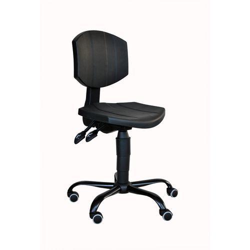 Pracovní židle PUR Logis s kolečky