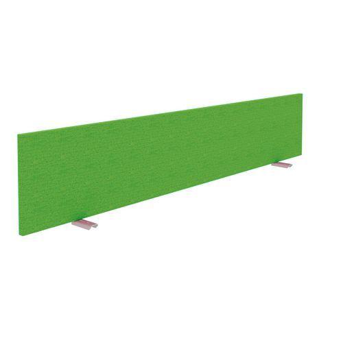 Alfa Office Stolový paraván Alfa 630, 180 x 30 cm, zelená - Prodloužená záruka na 10 let