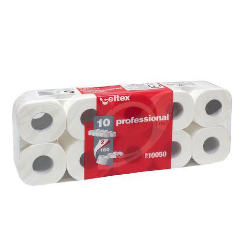 Toaletní papír Celtex Professional 2vrstvý, 11 cm, 17,6 m, 100 %