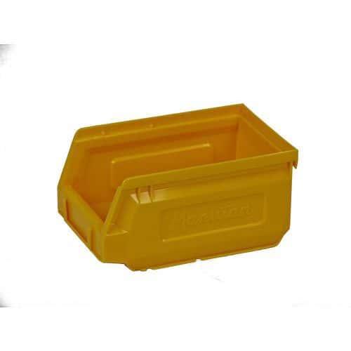 Plastový box 8,3 x 10,3 x 16,5 cm, žlutý