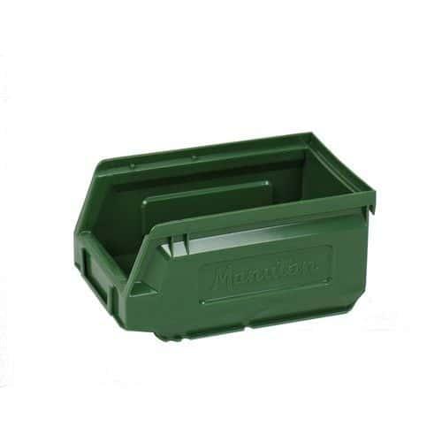 Plastový box 8,3 x 10,3 x 16,5 cm, zelený