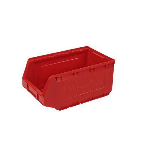 Plastový box 16,5 x 20,7 x 34,5 cm, červený