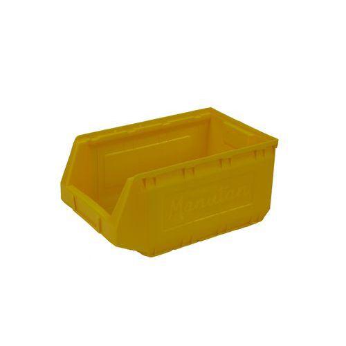 Plastový box 16,5 x 20,7 x 34,5 cm, žlutý