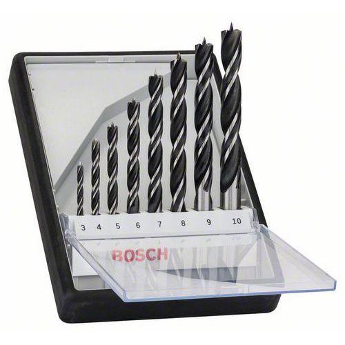 Bosch Sada vrtáků do dřeva Robust Line, 8dílná 3-10 mm 2607010533