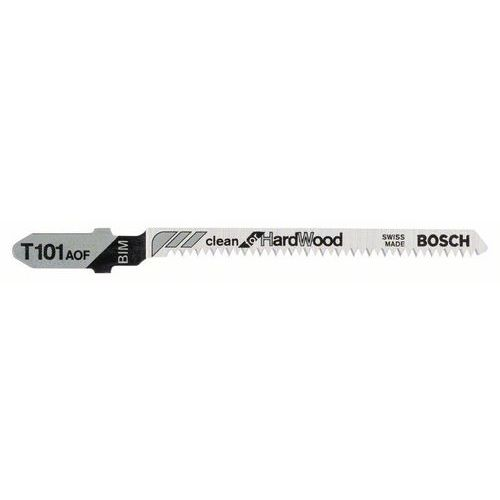 Bosch - Pilový plátek do kmitací pily T 101 AOF Clean for Hard Wood, 5ks x 10 BAL