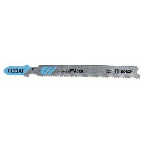 Bosch - Pilový plátek do kmitací pily T 121 AF Speed for Metal, 25ks