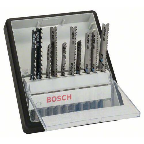 Bosch - 10dílná souprava pilových plátků do kmitacích pil, robus