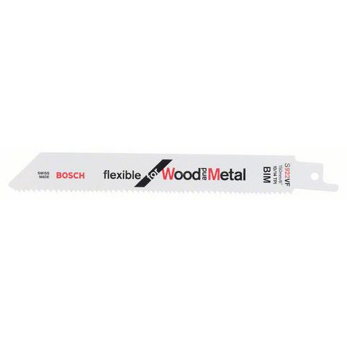 Bosch - Pilový plátek do pily ocasky S 922 VF Flexible for Wood
