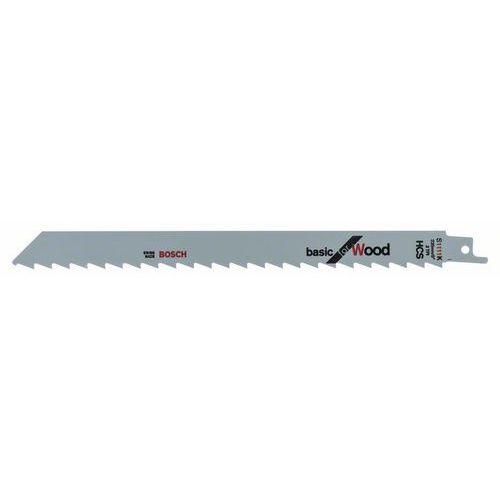 Bosch - Pilový plátek do pily ocasky S 1111 K Basic for Wood, 5k