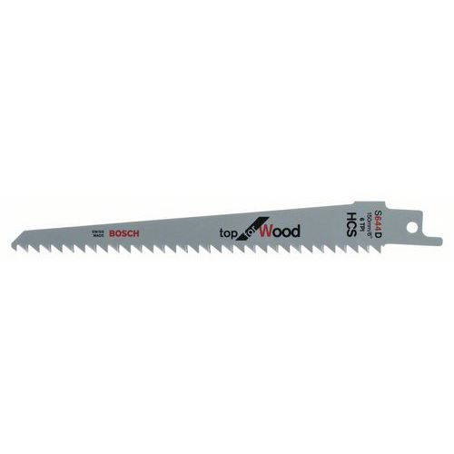 Bosch - Pilový plátek do pily ocasky S 644 D Top for Wood, 5ks x 5 BAL