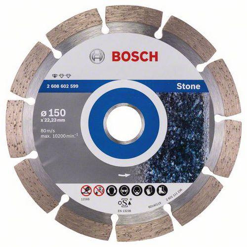 Bosch - Diamantový řezný kotouč Standard for Stone 150 x 22,23 x 2 x 10 mm