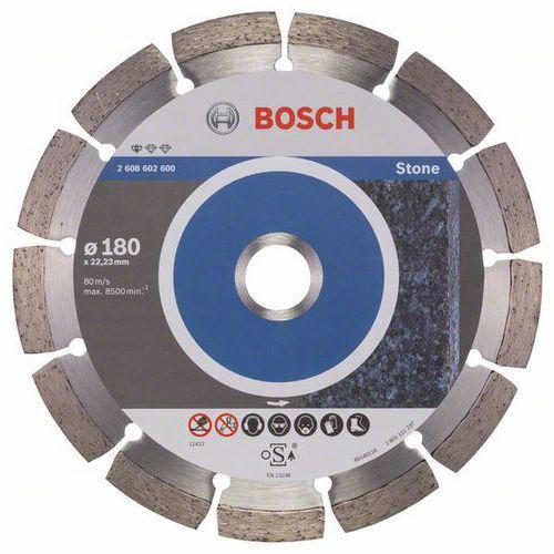 Bosch - Diamantový řezný kotouč Standard for Stone 180 x 22,23 x