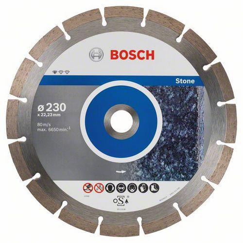 Bosch - Diamantový řezný kotouč Standard for Stone 230 x 22,23 x