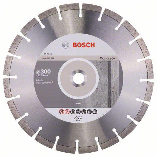 Bosch - Diamantový řezný kotouč Expert for Concrete 300 x 22,23