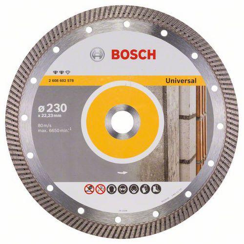 Bosch - Diamantový řezný kotouč Expert for Universal Turbo 230 x