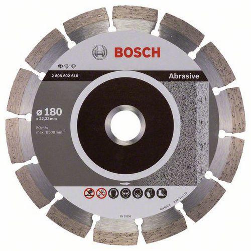 Bosch - Diamantový řezný kotouč Standard for Abrasive 180 x 22,2
