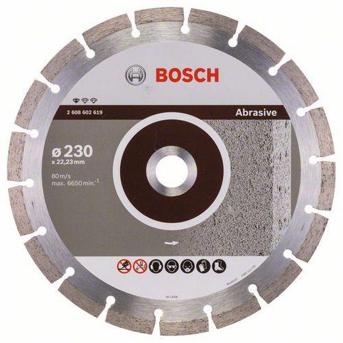 Bosch - Diamantový řezný kotouč Standard for Abrasive 230 x 22,2