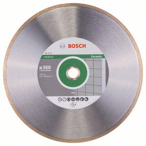 Bosch - Diamantový řezný kotouč Standard for Ceramic 350 x 30 plus 25