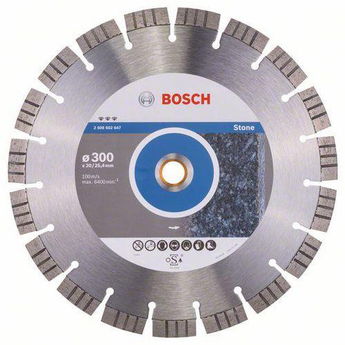 Bosch - Diamantový řezný kotouč Best for Stone 300 x 20,00+25,40