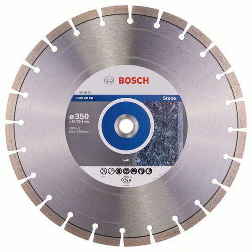 Bosch - Diamantový řezný kotouč Expert for Stone 350 x 20,00 plus 25,