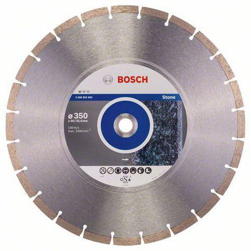 Bosch - Diamantový řezný kotouč Standard for Stone 350 x 20/25,4