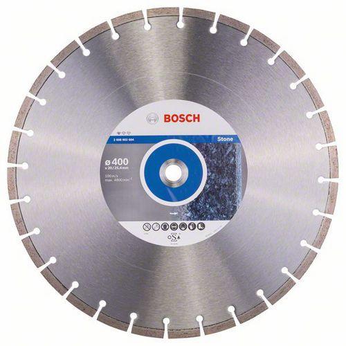 Bosch - Diamantový řezný kotouč Standard for Stone 400 x 20/25,40 x 3,2 x 10 mm