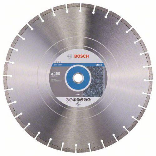 Bosch - Diamantový řezný kotouč Standard for Stone 450 x 25,40 x 3,6 x 10 mm