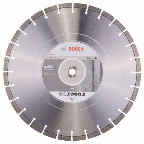 Bosch - Diamantový řezný kotouč Best for Concrete 400 x 20,00 +