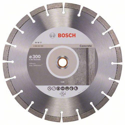 Bosch - Diamantový řezný kotouč Expert for Concrete 300 x 20,00+
