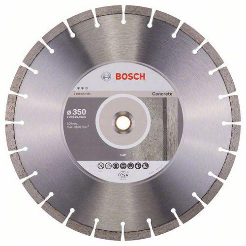Bosch - Diamantový řezný kotouč Expert for Concrete 350 x 20,00 plus